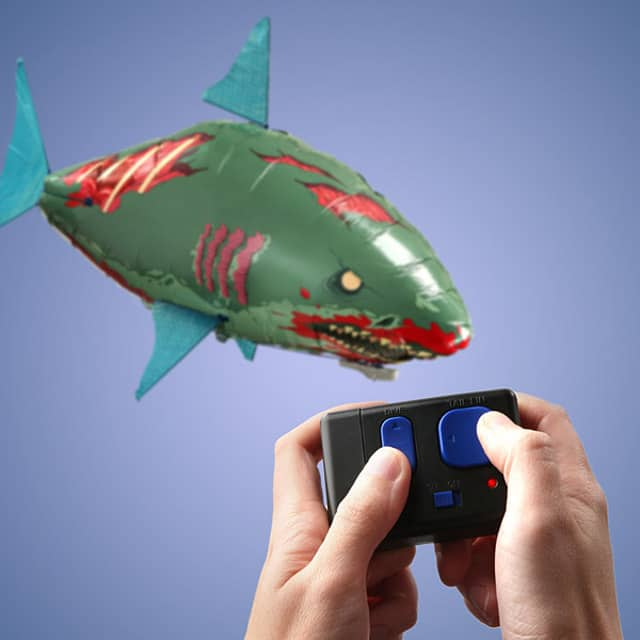 Remote Control Flying Zombie Shark Fun Gift Idea