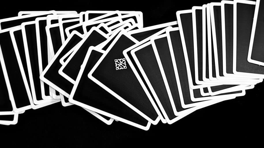 Rounders Playing Cards Deck  Back Artwork