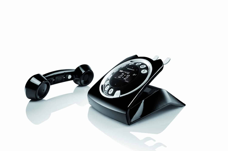 Sagemcom Sixty Cordless Telephone Black