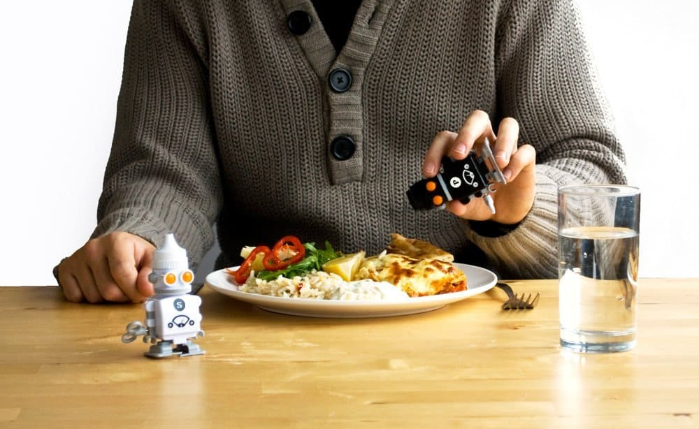 Salt and Pepper Bots  Food