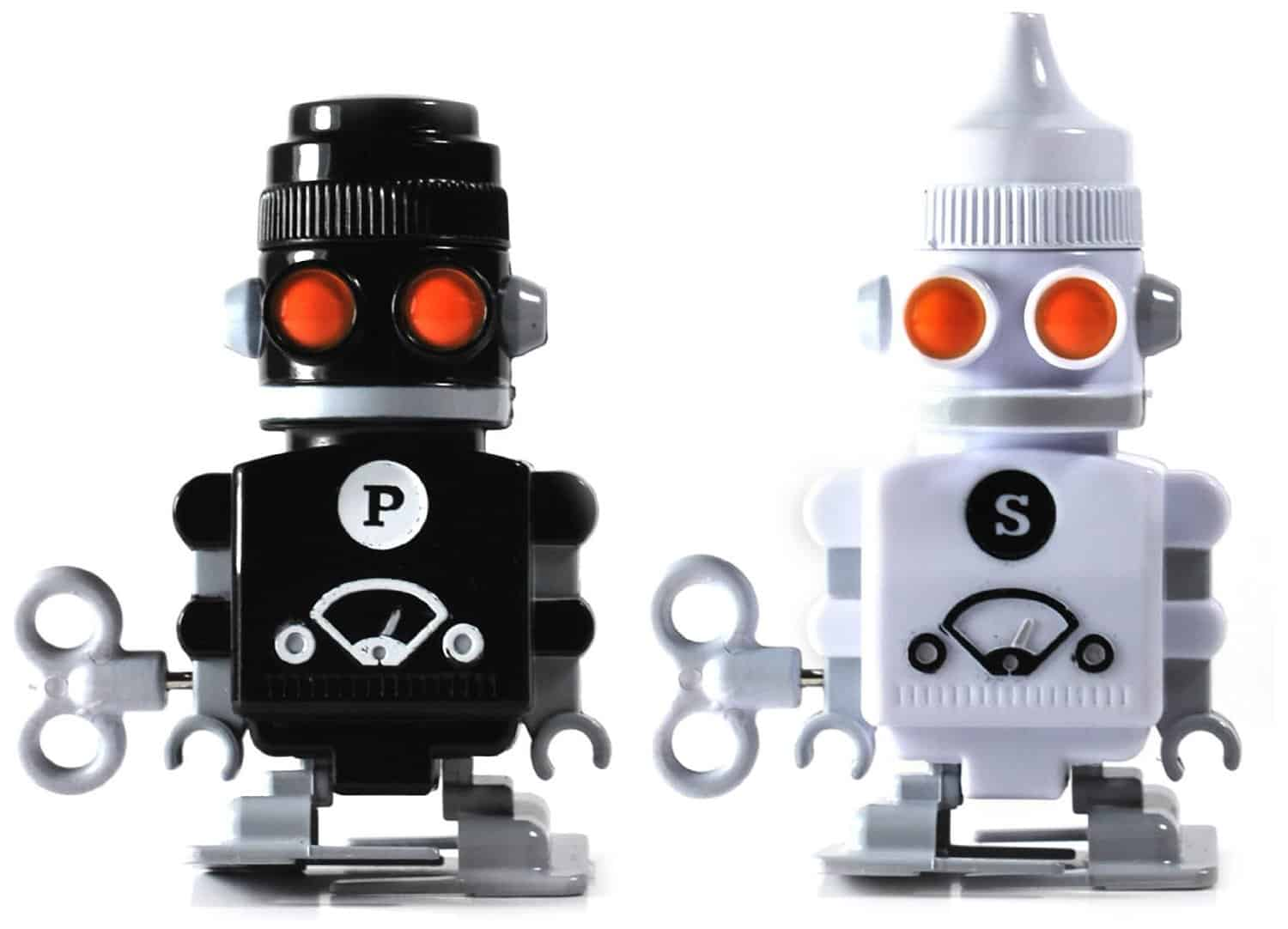 Salt and Pepper Bots Wind Up