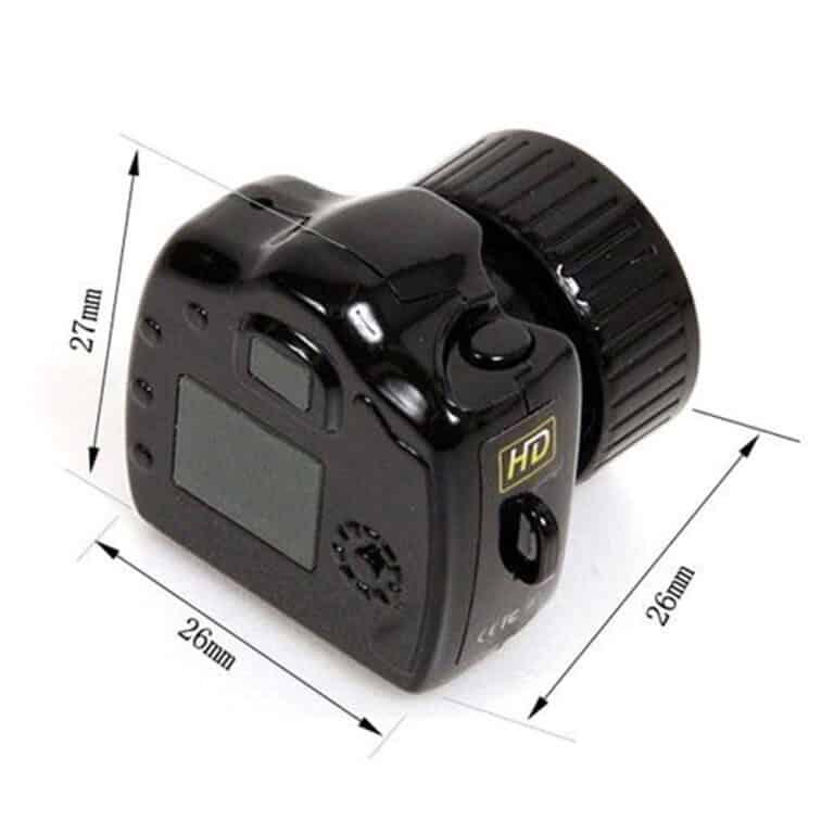 Smallest Mini Camera Camcorder Dimensions