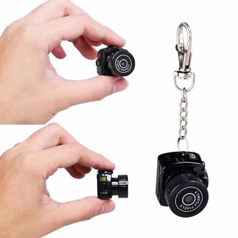 Smallest Mini Camera Camcorder Keychain