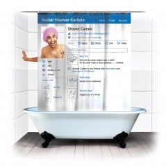 Facebook even in the shower!