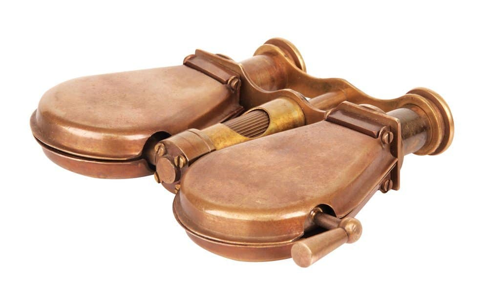 Steampunk Foldable Belt Binoculars Portable