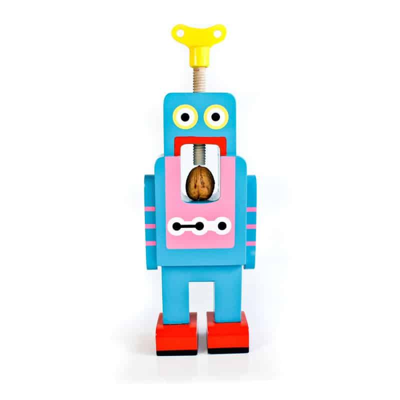 Suck UK Robot Nutcracker Blue Robot Front