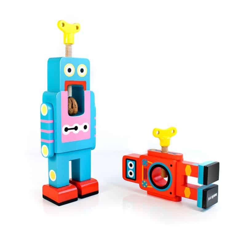 Suck UK Robot Nutcracker Bots Playing