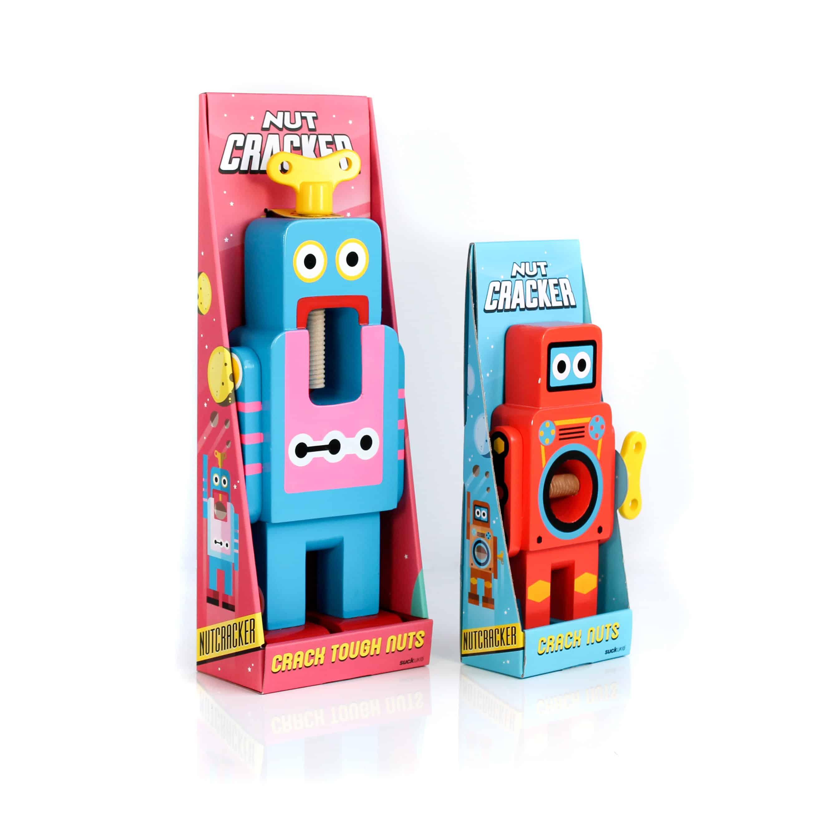 Suck UK Robot Nutcracker Cute Boxes