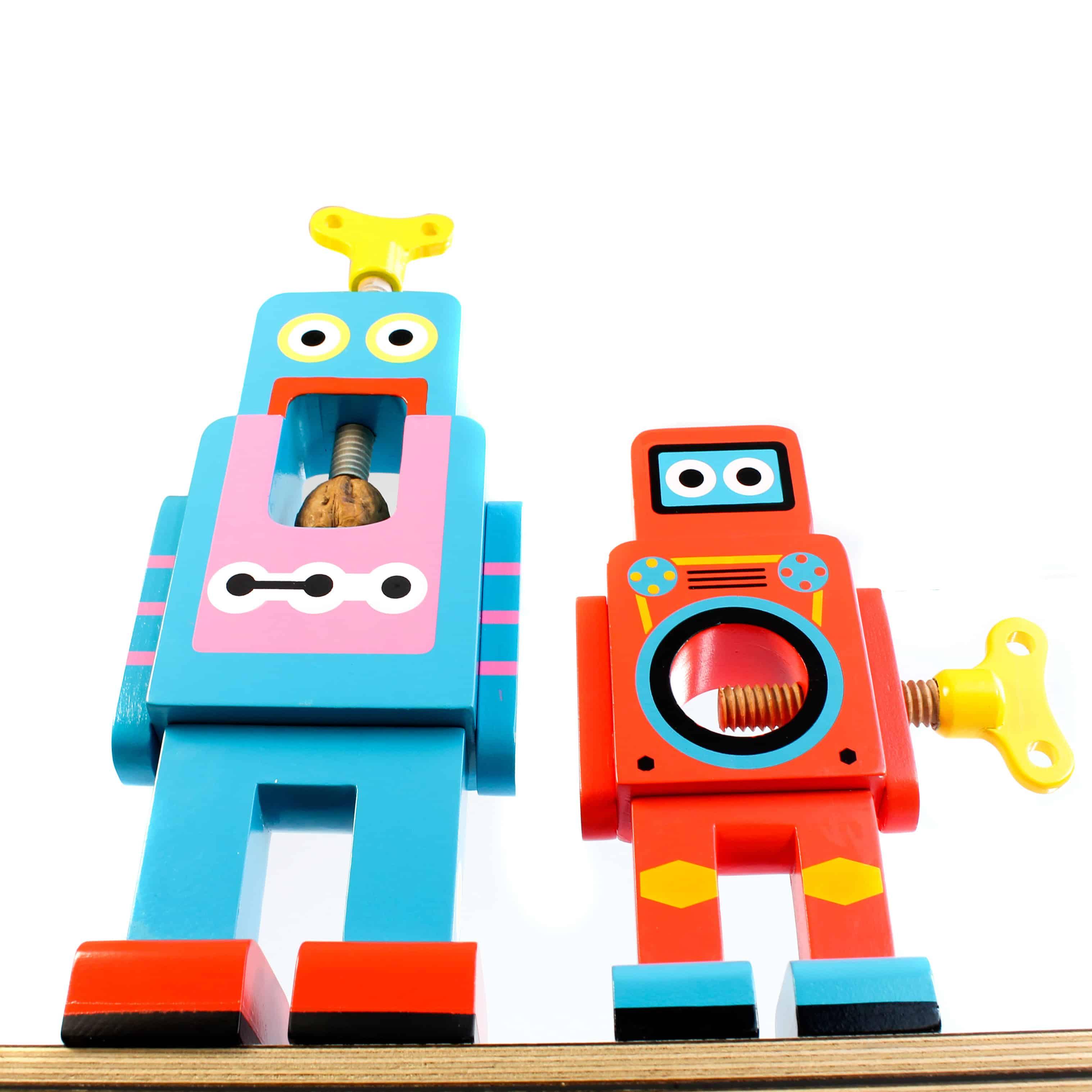 Suck UK Robot Nutcracker Worms Eye View