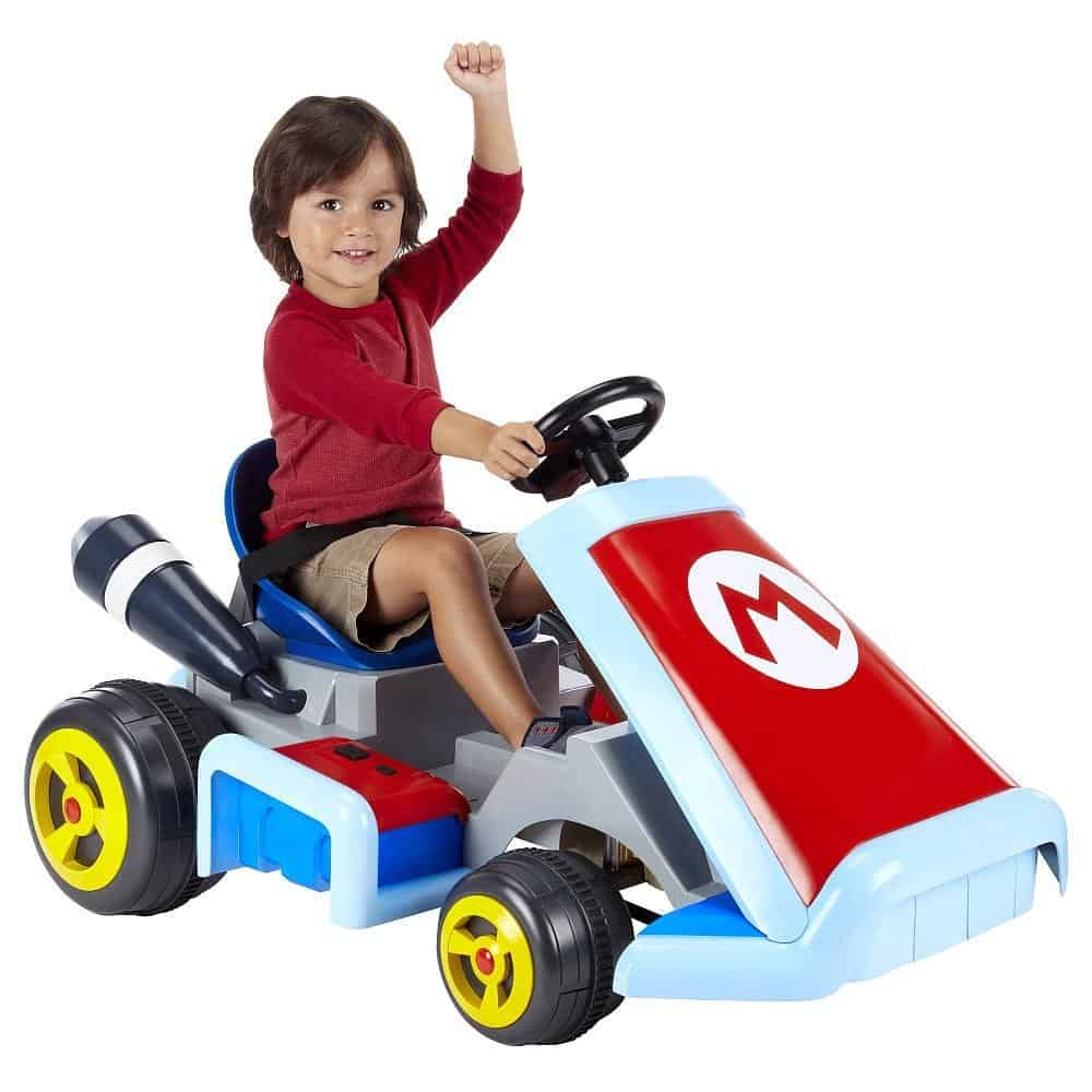 Super Mario Cart Ride On Vehicle Cool Nintendo Gift