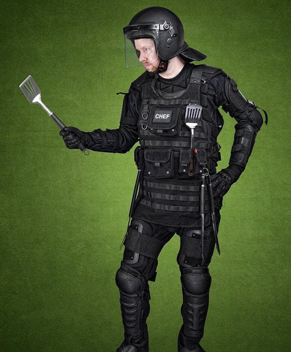 Tactical BBQ Apron Military Apparel