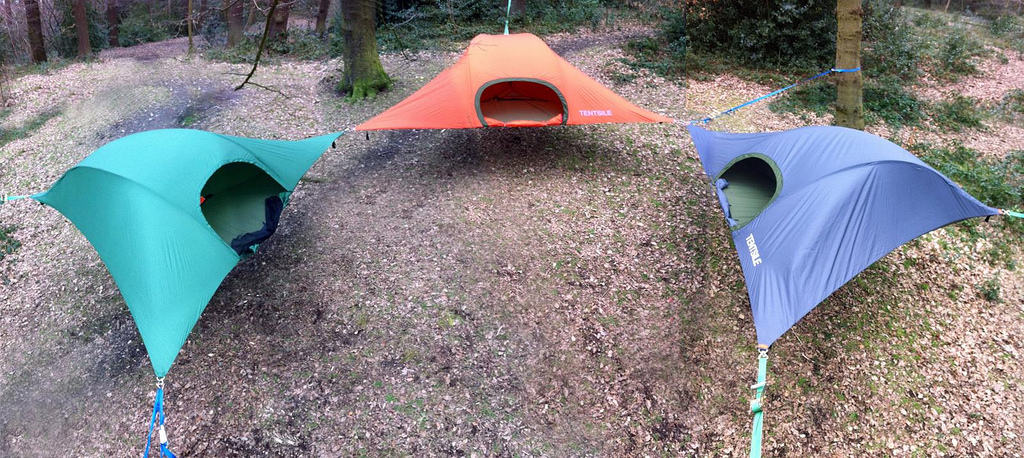 Tentsile Stingray tent Tree tent Group