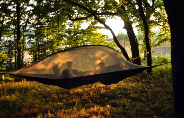 Tentsile Stingray tent Tree tent Sunset