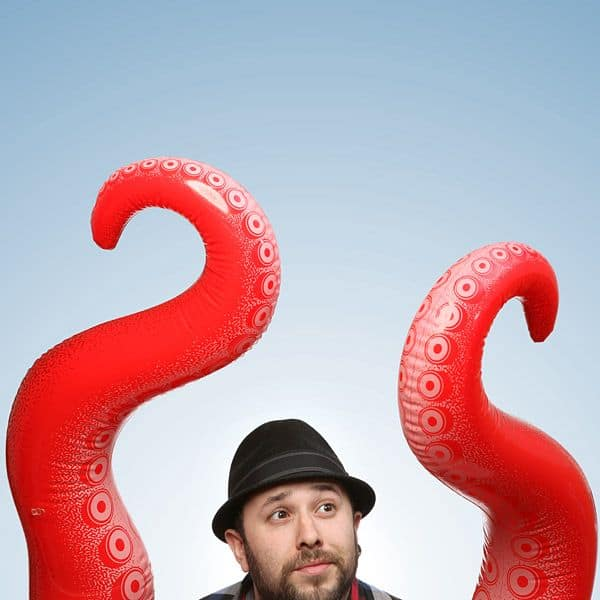 ThinkGeek Inflatable Tentacle Arm Novelty Octopus Arms