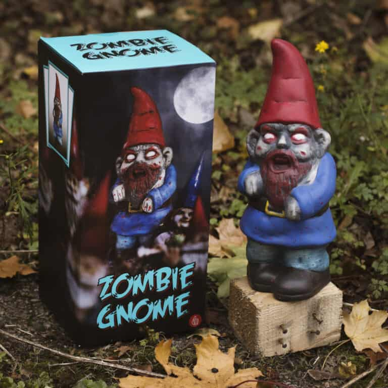 Thumbs Up! Zombie Garden Gnome Funny Novelty Item