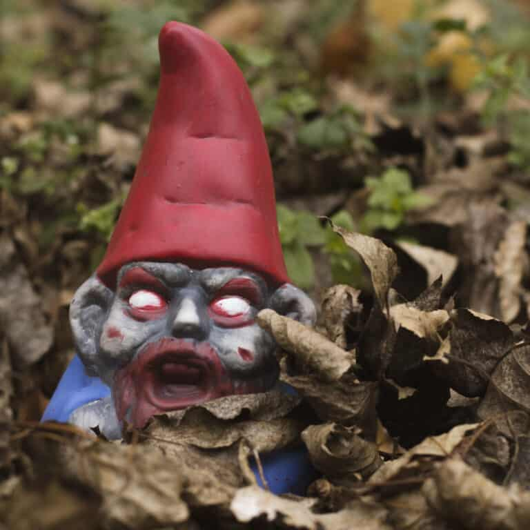 Thumbs Up! Zombie Garden Gnome Horror Figurine