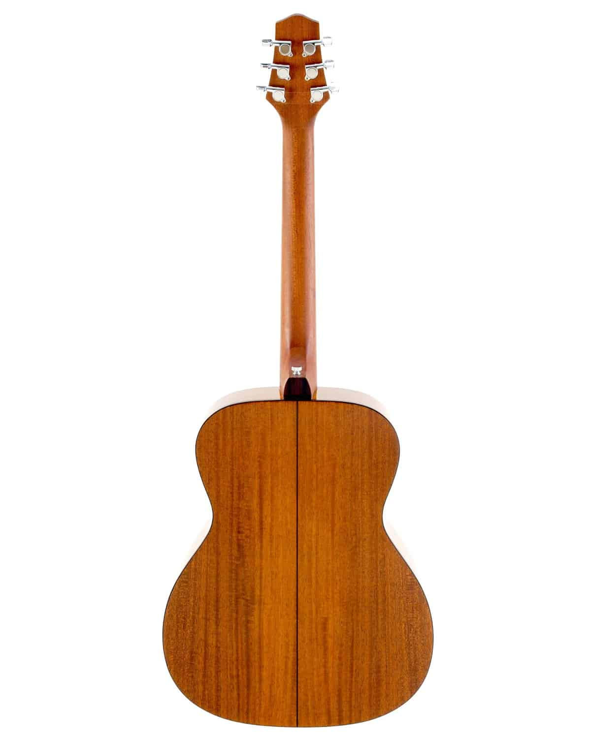 Voyage-Air Transit Series VAOM-02 Folding Orchestra Model Acoustic Guitar Rear View