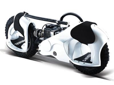 Wheelman White Cooll Machine
