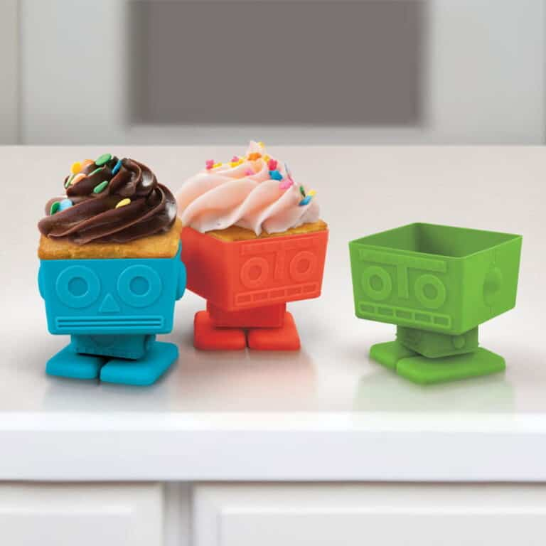 Yumbots Cupcake Holder Cute Geeky Gift Idea