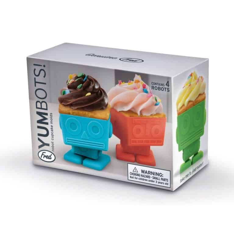 Yumbots Cupcake Holder Packaging Box