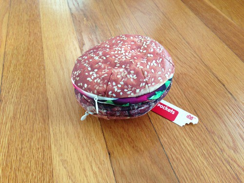 Yummy Pocket Storage Burger Pencil Case Holder 3D Printed