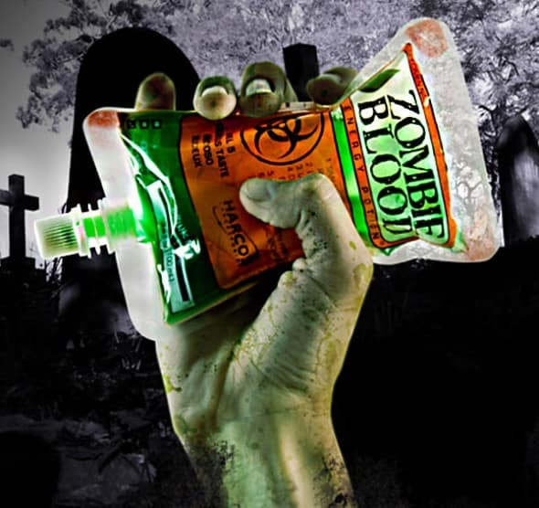 Zombie Blood Energy Potion Pack Weird Buy for Kids Party