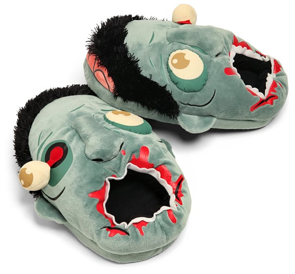 Zombie Plush Slipper Cool Gift Idea