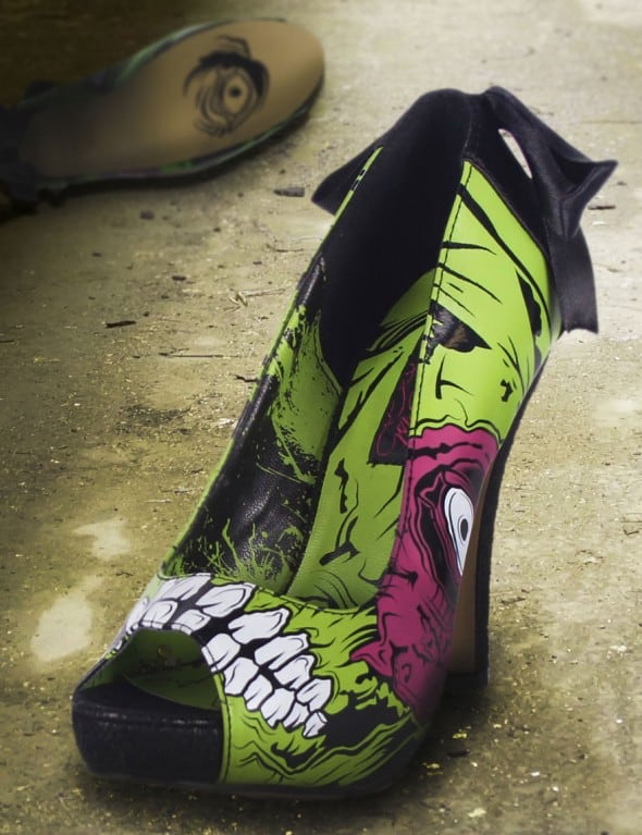 Zombie Stomper Platform Pump Weird Fashion Buy For Walking Dead Fan 590x767 - A Gentleman's Guide to Gifting