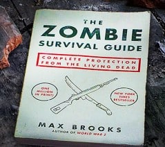Be prepared for the coming zombie apocalypse!