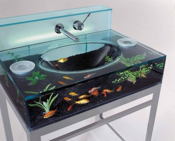 Have an underwater adventure right on your sink.