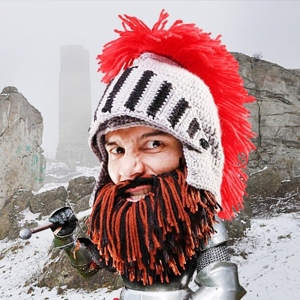 Be the warm bearded manly man that you are!