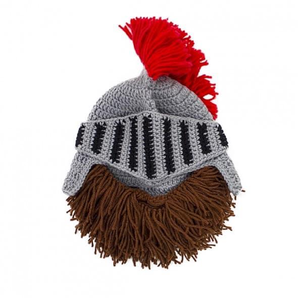 Barbarian Knight Beard Head Fun Gift to Buy Him