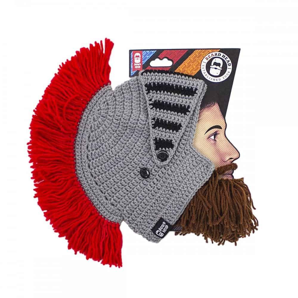 Barbarian Knight Beard Head Fun Novelty for the Winter
