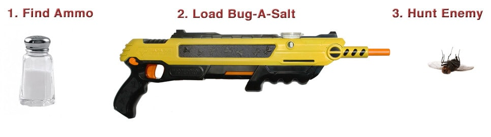 Bugasalt Gun Usage Instructions