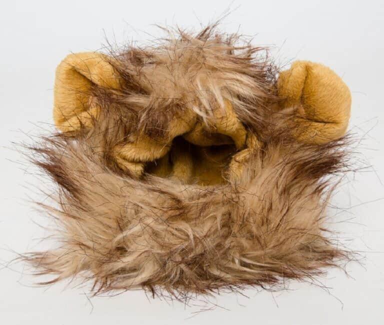 Cat Lion Mane Wig Costume Feline Head Gear