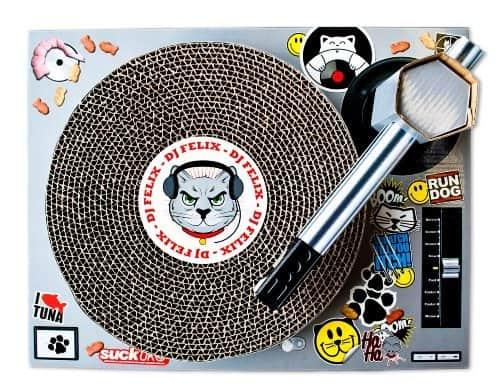 Cat Scratch DJ Top View