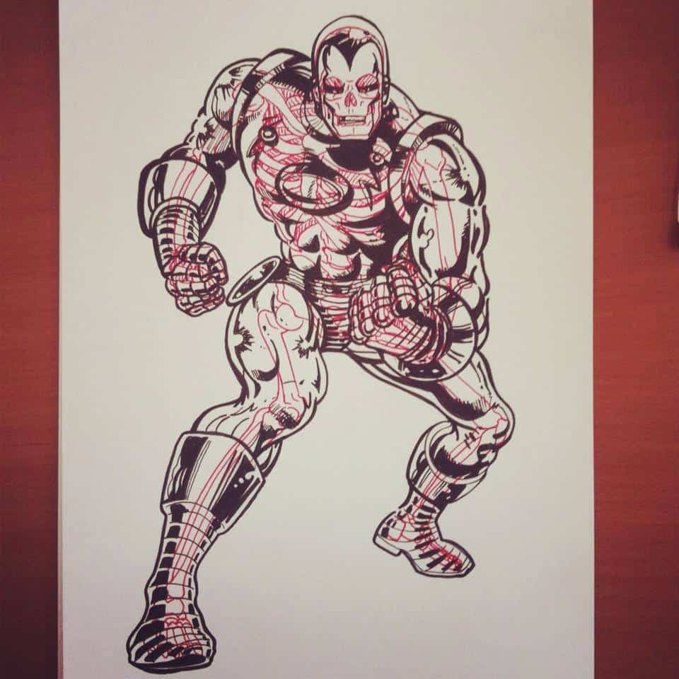 Chris Panda X-Ray Series Avengers Style Ironman Marvel