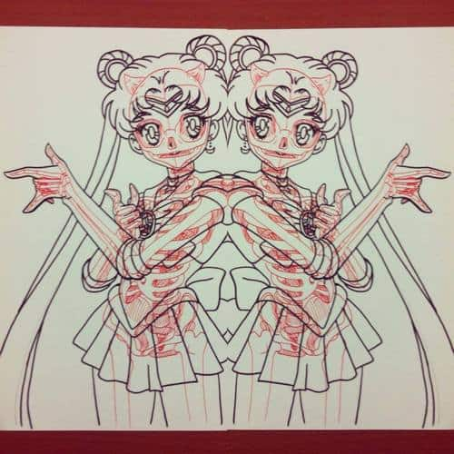 Chris Panda X-Ray Series Sailor Moon Anime