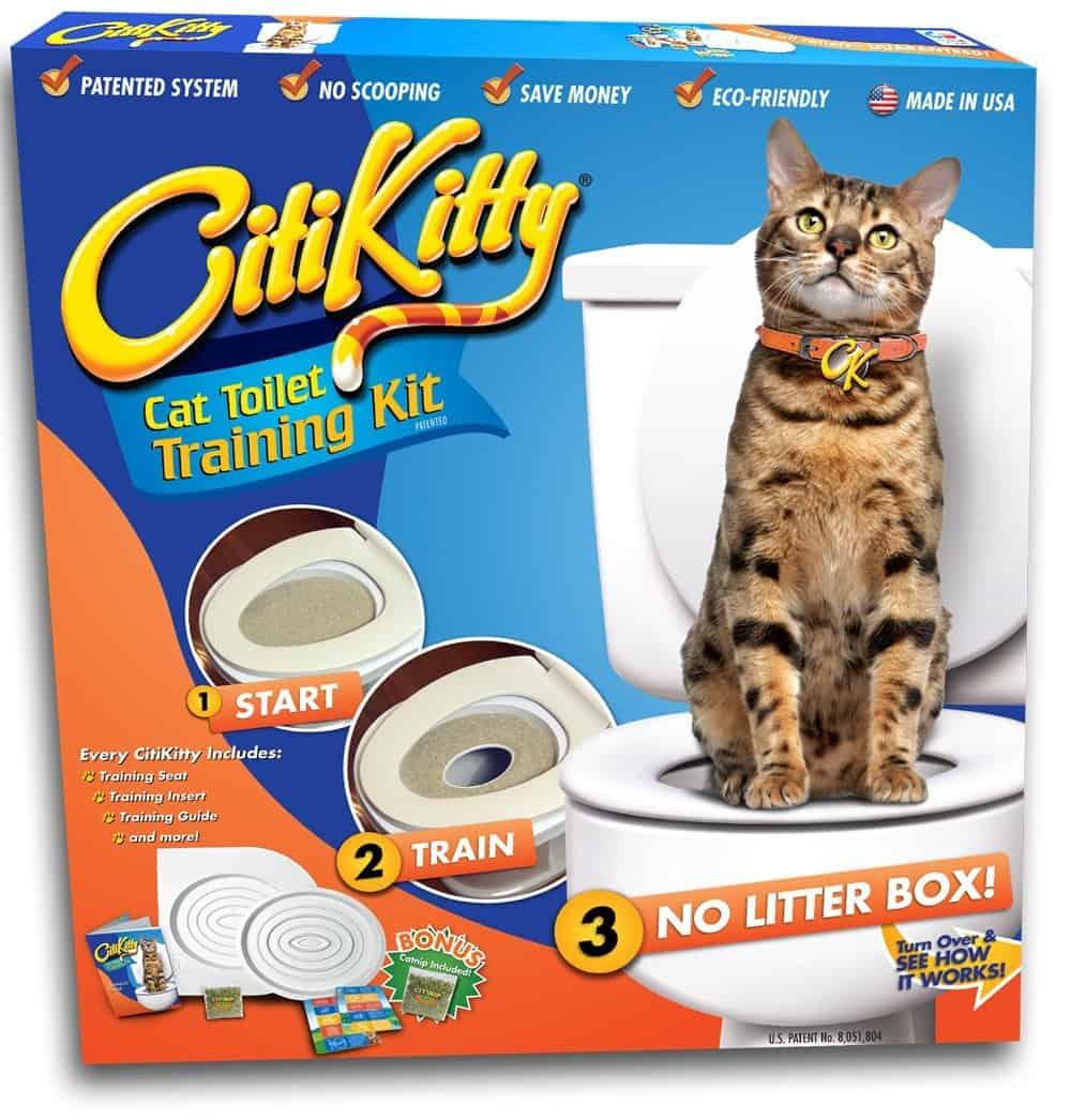 CitiKitty Cat Toilet Training Kit Fancy Box