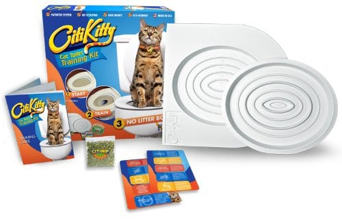 CitiKitty Cat Toilet Training Kit Product Content