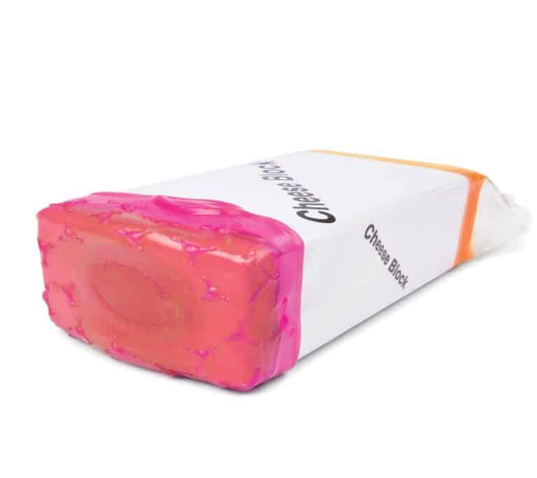 Cover Blubber Food Wrapper Pink Cheese Cover