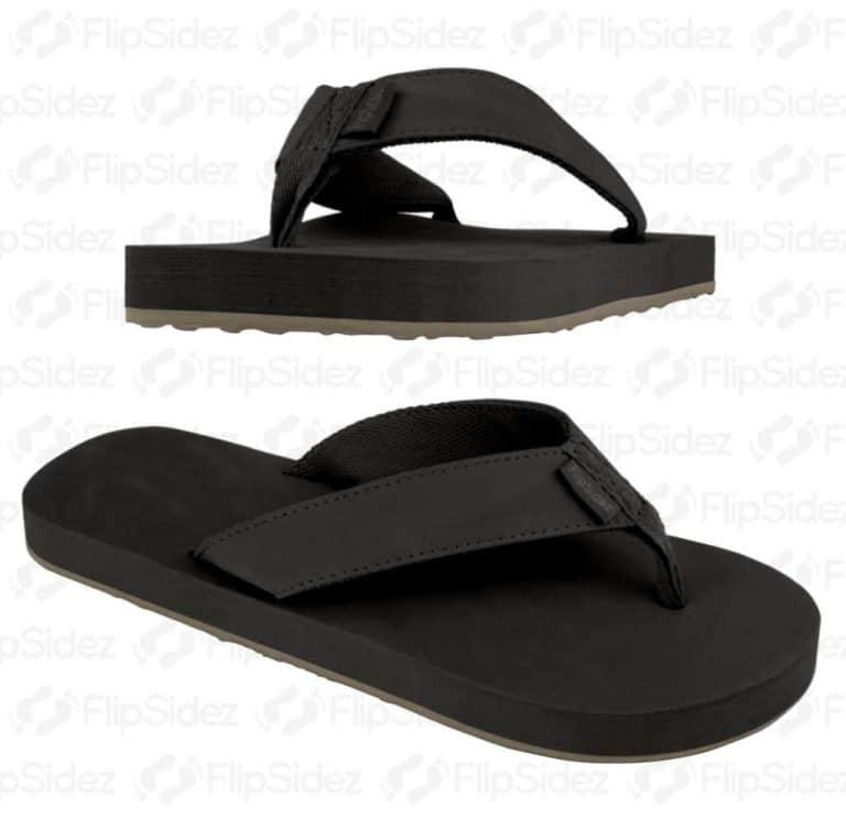 FlipSidez-FOLLOW-ME-BRING-BEER-Sandals-Black