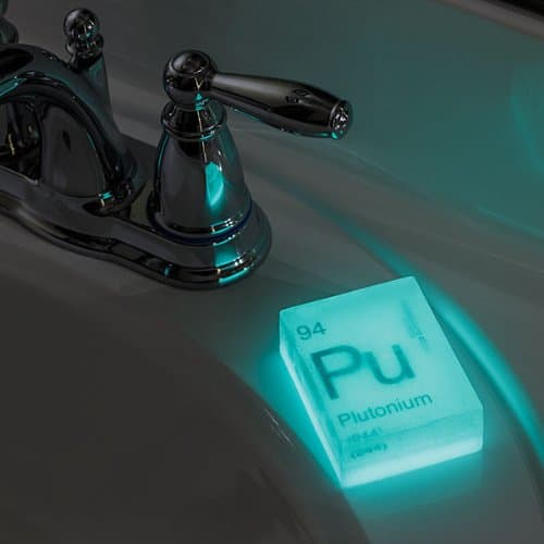 Glow-in-the-Dark Nuclear 3 PACK Element Soaps Plutonium