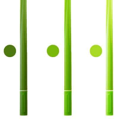 Grass Leaf Pen Yellow Green Light