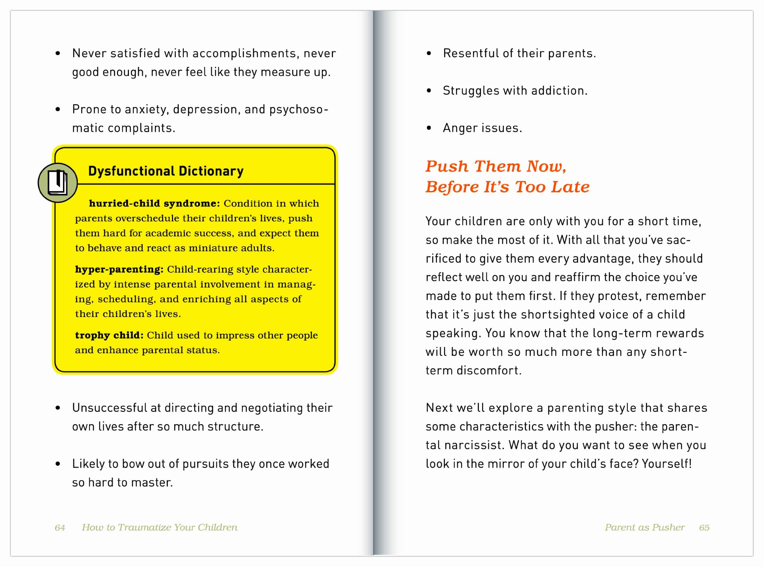 How to Traumatize Your Children 7 Proven Methods Page Dysfunctional Dictionary