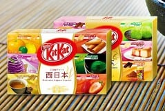 Taste the many flavors of Japan with Kit Kat.