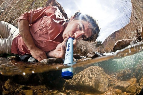 1,000 liters of clean water in your pocket!
