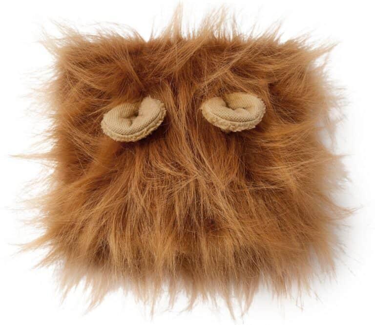Lion Mane Wig Dog Costume Stuffed Ears