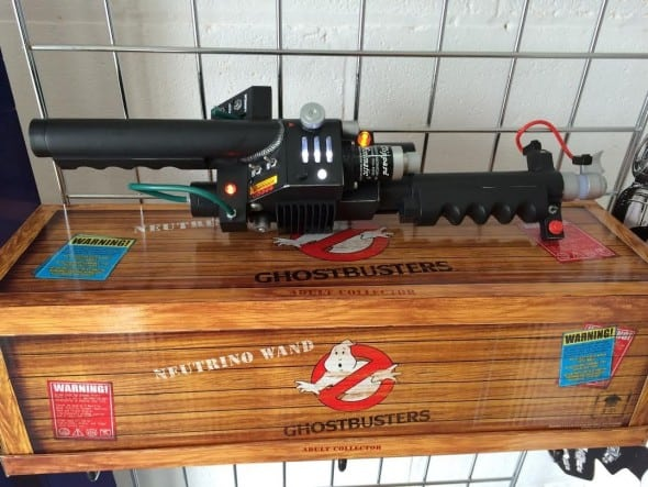 Mattel Ghostbusters Exclusive Prop Replica Neutrino Wand with Cool Box