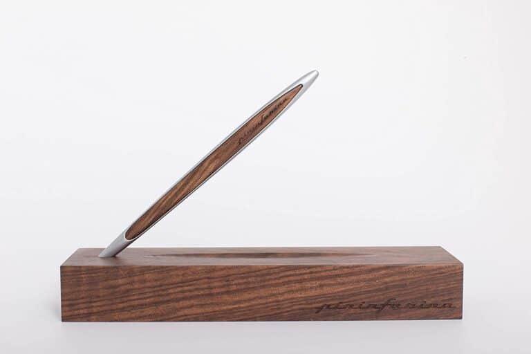 Napkin Forever Pininfarina Cambiano Inkless Metal Pen Wood Design